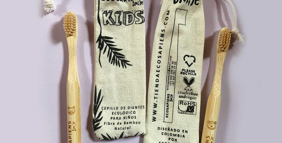 Cepillo de Dientes Ecológicos para Niños