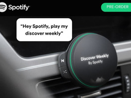 Spotify may be working on a stand-alone car speaker