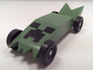 Pinewood Derby Car - Creeper