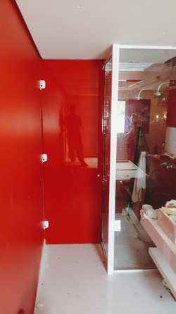Box serigrafado vermelho