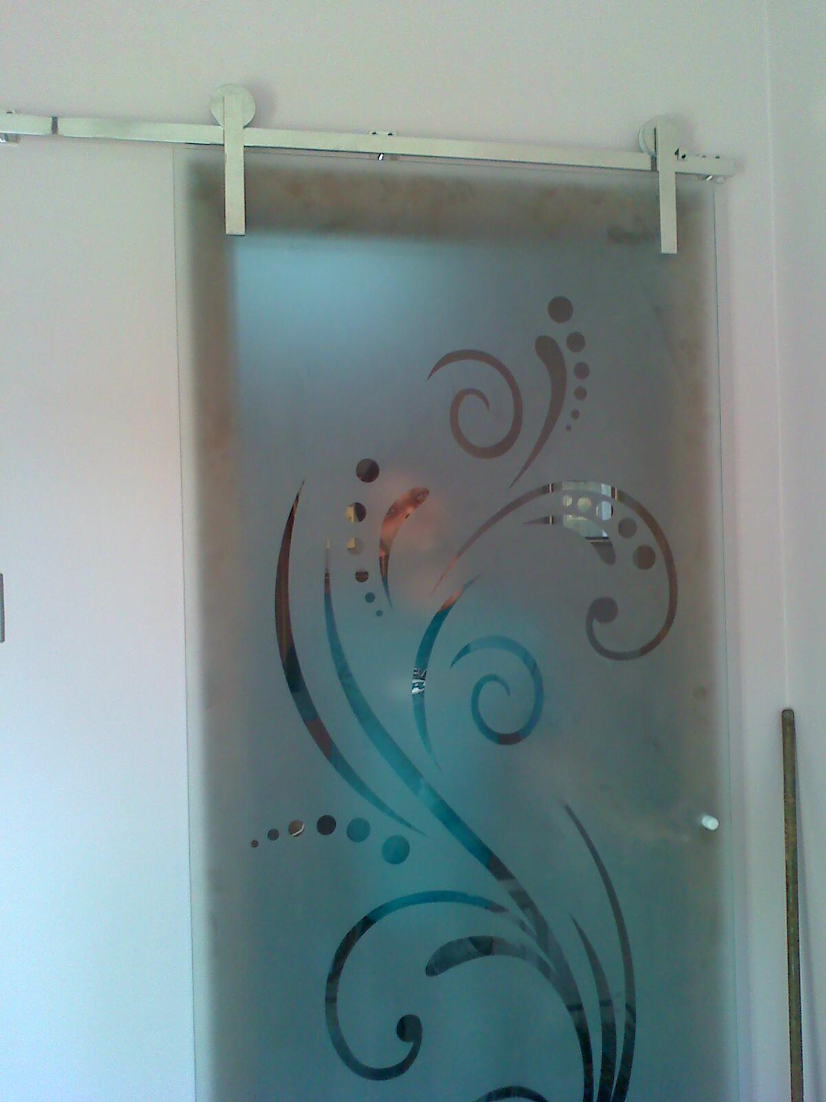 portas jateadas
