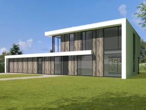 Ontwerp voor woning Prinsenbeek