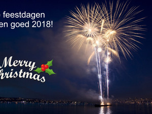 Fijne feestdagen en een goed 2018!