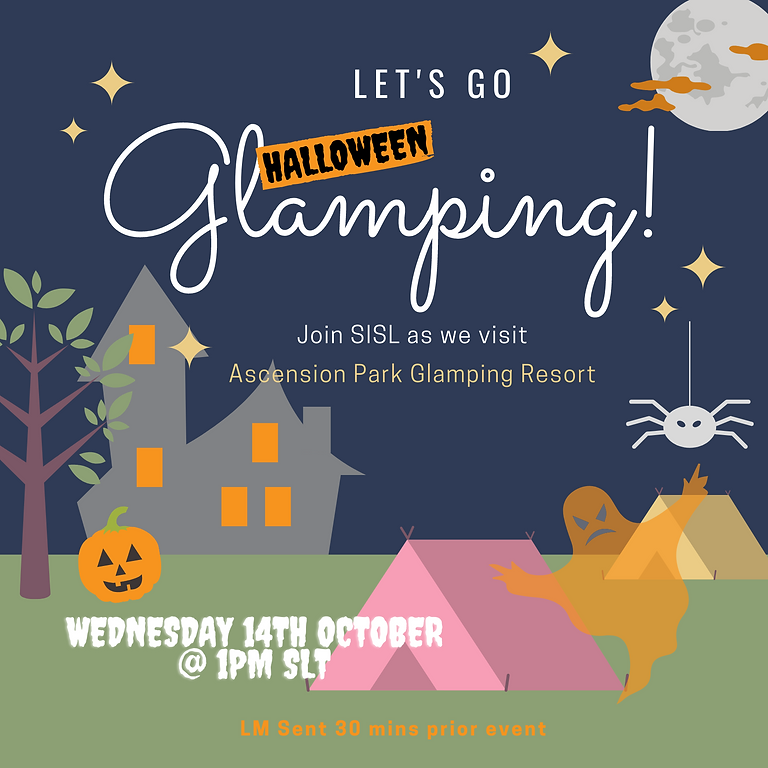 Halloween Glamping!