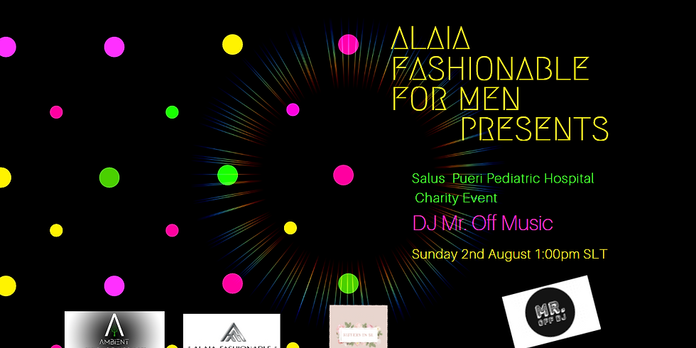 Party with Alaia Fashionable for Men Charity Event!