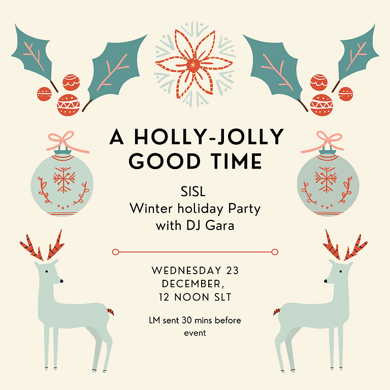 SISL Winter Holiday Party