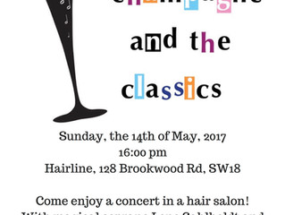 A Concert in a Hair Salon - Art in the Community