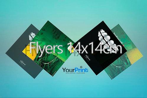 Flyers 14x14cm