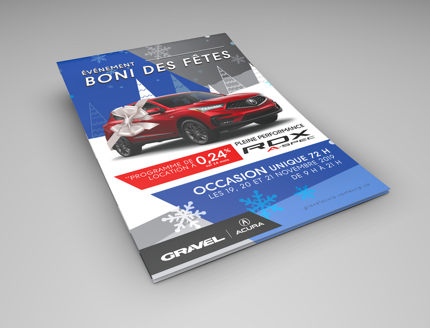 Gravel Acura Pamphlet cover
