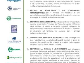 Carta per la Sostenibilità delle Imprese nella Economia Circolare