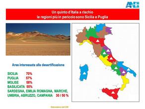 emergenza desertificazione ... non più una ipotesi, ma una realtà italiana!