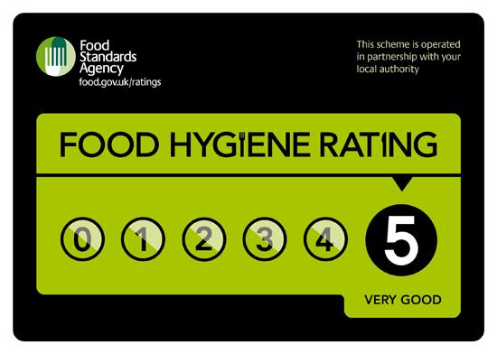 FHRS - Food Hygiene 5 stars
