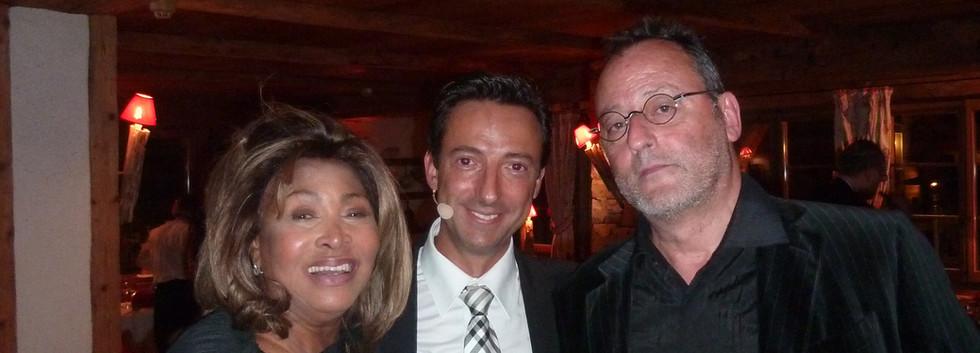 Tina Turner et Jean Reno