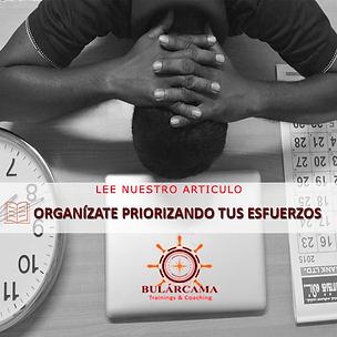 Bularcama Articulo Organizate Priorizando