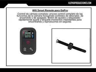 control remoto gopro hero 6