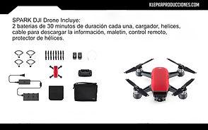 renta equipo fotografico puebla dron spark
