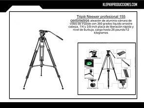 renta de equipo fotografico tripie