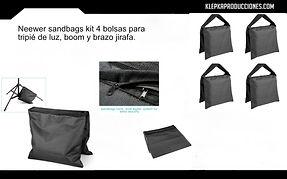 renta equipo fotografico puebla sandbags
