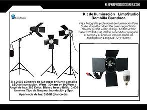 renta equipo fotografico puebla iluminacion