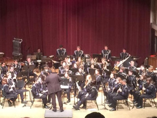 PHSN students in Symphonic Band