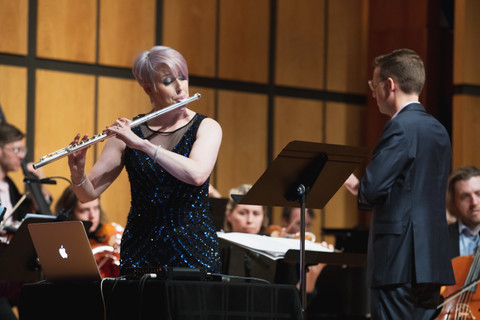 Recording the Galbraith Flute Concerto