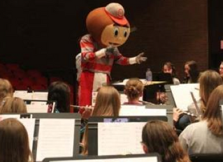 Griffith in OSU Honors Band