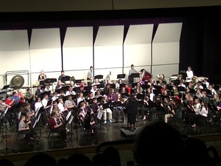 Arthur and Ratliff in All-County Band