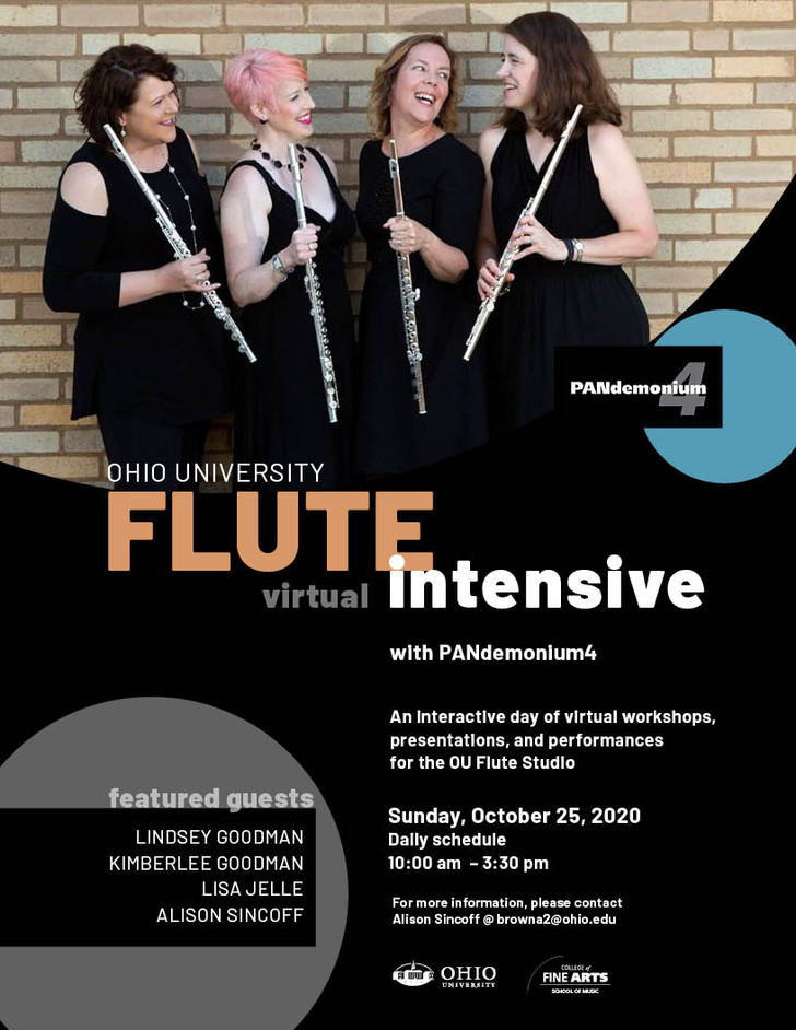 PANdemonium4's Ohio University Virtual Flute Intensive