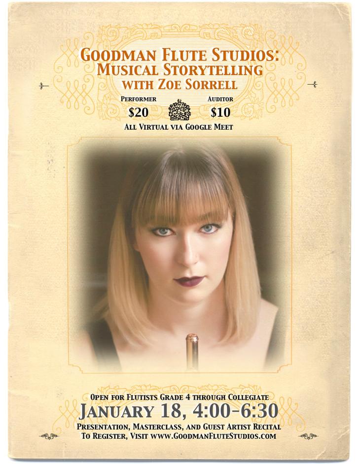 Goodman Flute Studios Musical Storytelling
