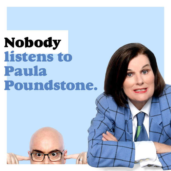 Nobody Listens to Paula Poundstone 3-time house band