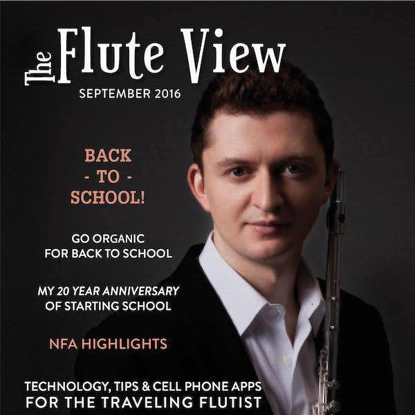 Article for The Flute View