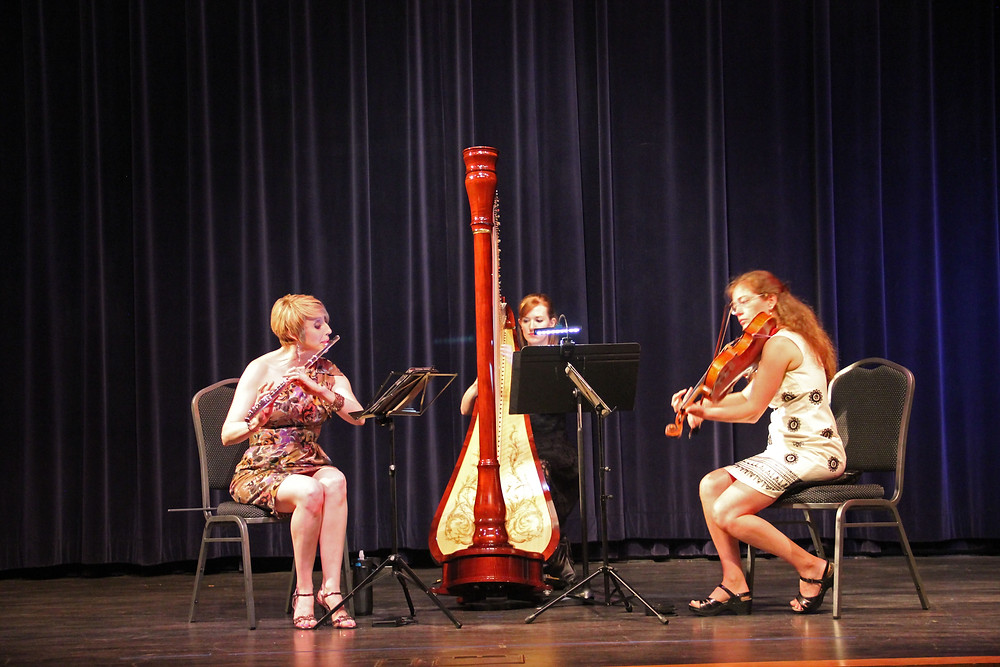 Debussy Trio in May 2015