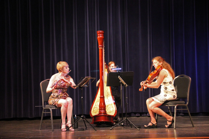 Debussy Trio chamber concert