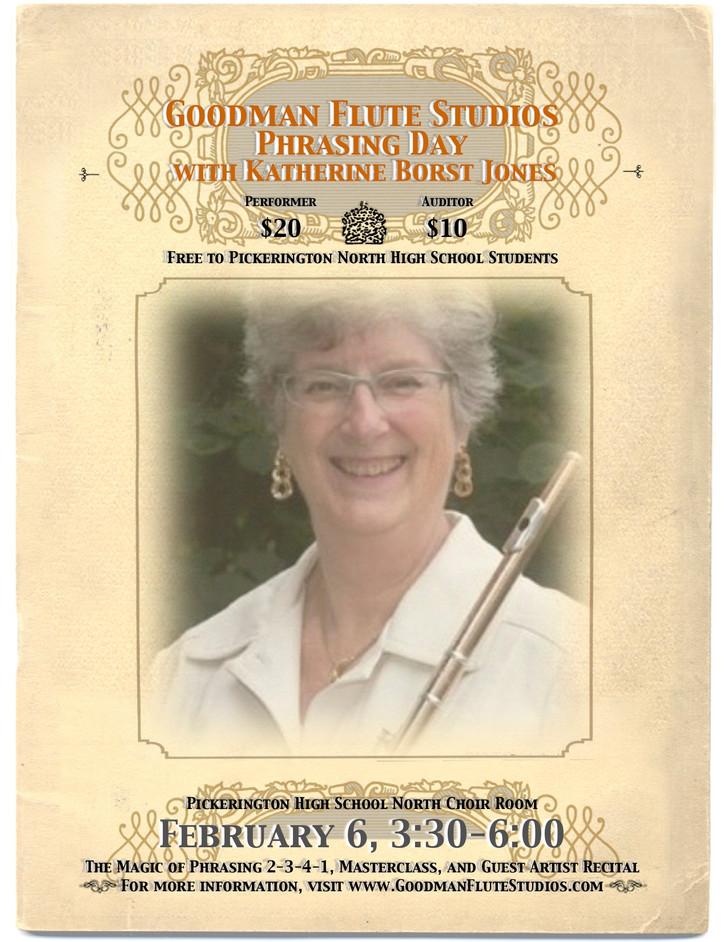 Goodman Flute Studios Phrasing Day