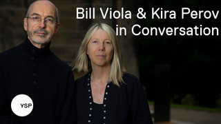 Bill Viola and Kira Perov in conversation with Clare Lilley