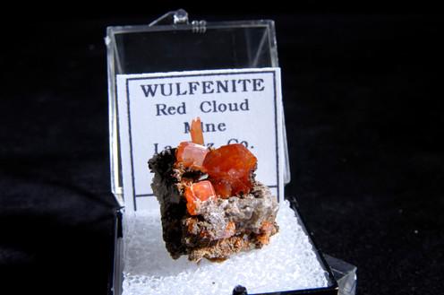 Wulfenite, Red Cloud Mine, AZ