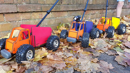 Outdoor Toy Car