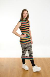 Knit and Crochet Dress