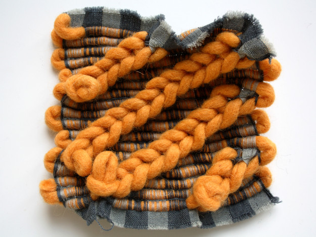 Chunky Knit and Woven Study