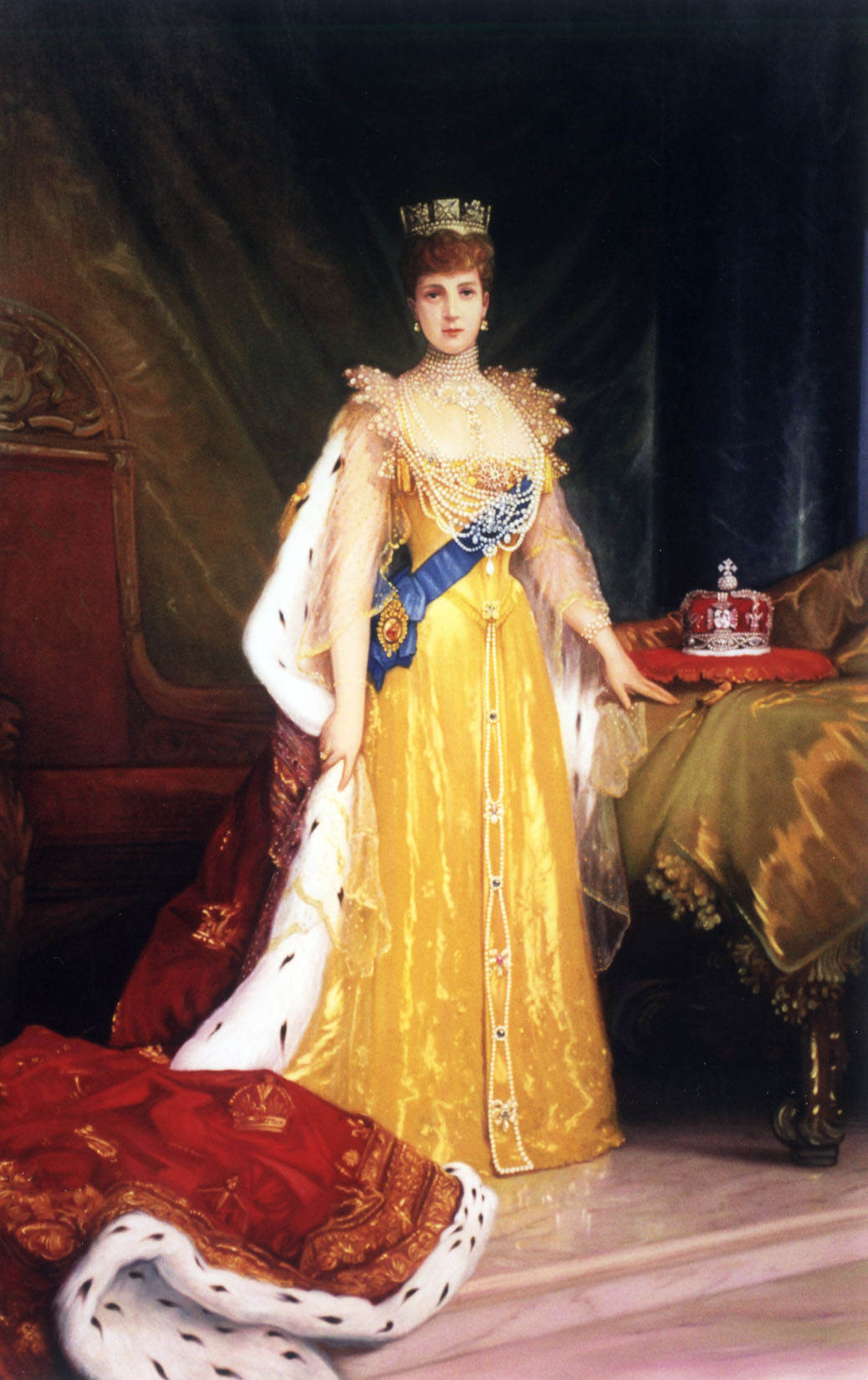 Queen Alexandra portrait