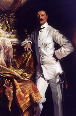 Singer Sargent portrait