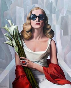 Modern Art Deco painting