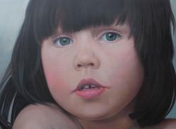 Leila portrait - 4 years