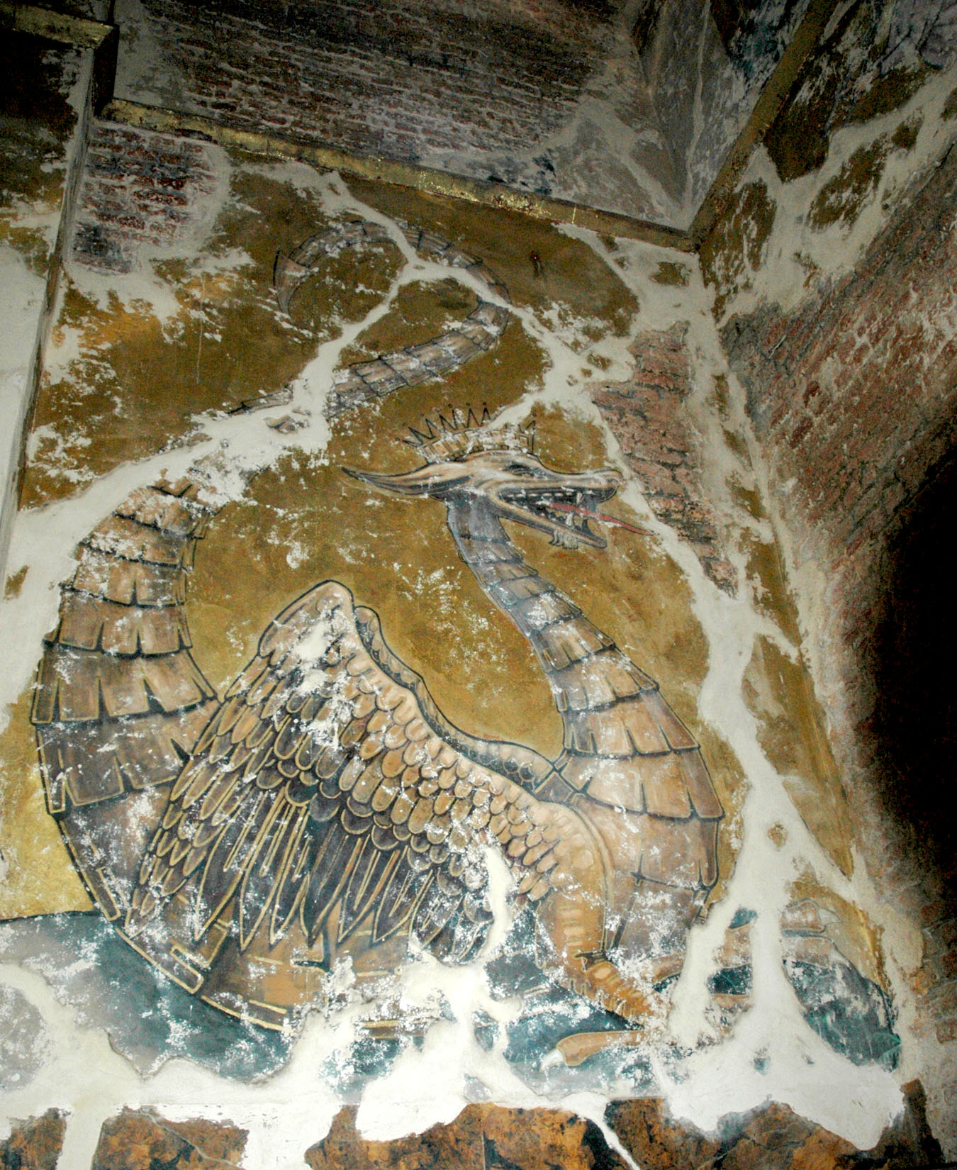 Trail Chamber mural detail