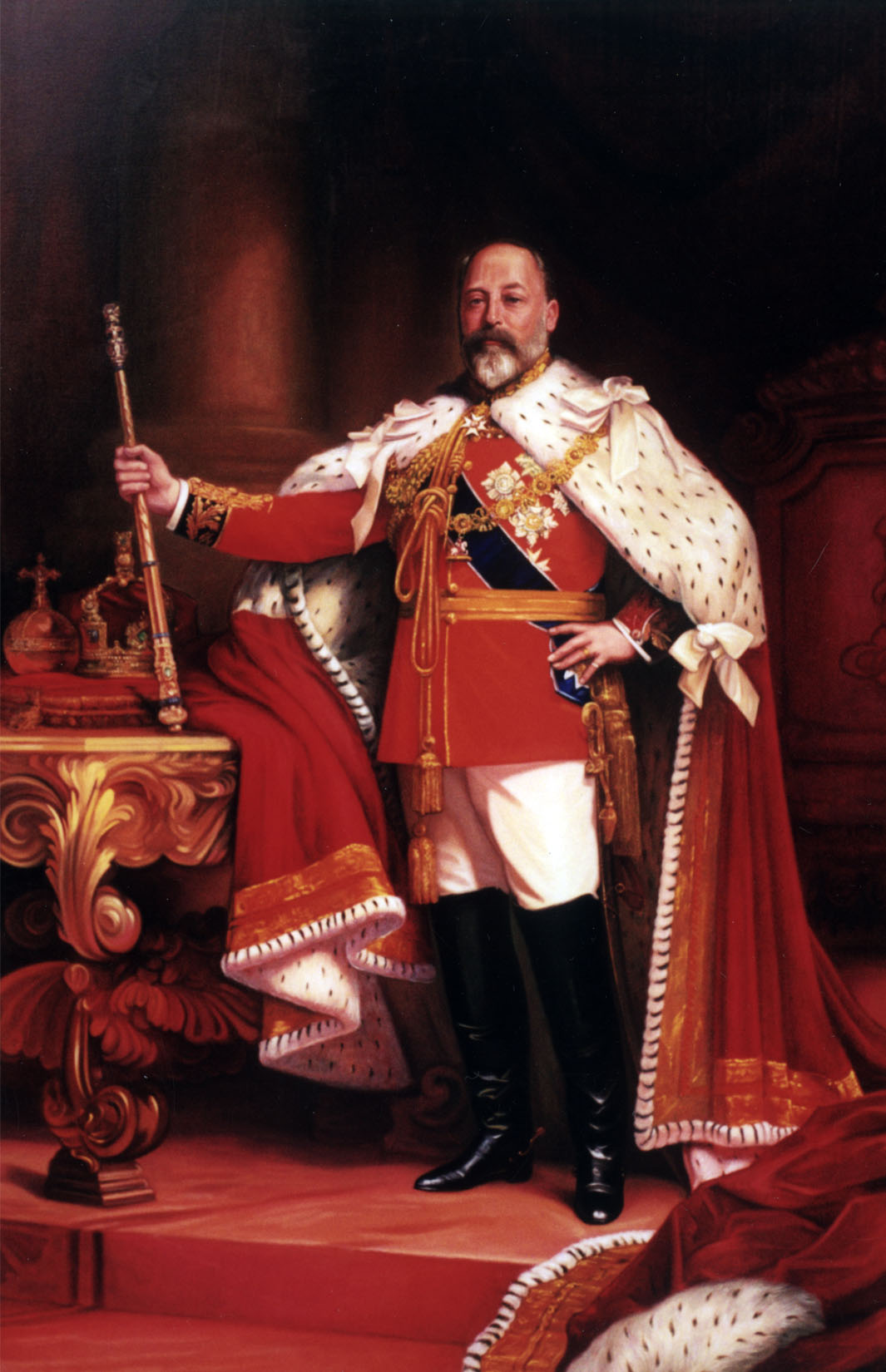 King Edward VII portrait