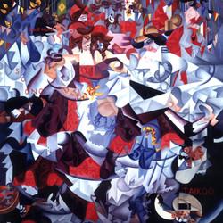 Gino Severini Cubist painting