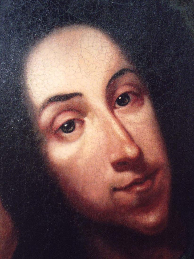Wizzard portrait detail