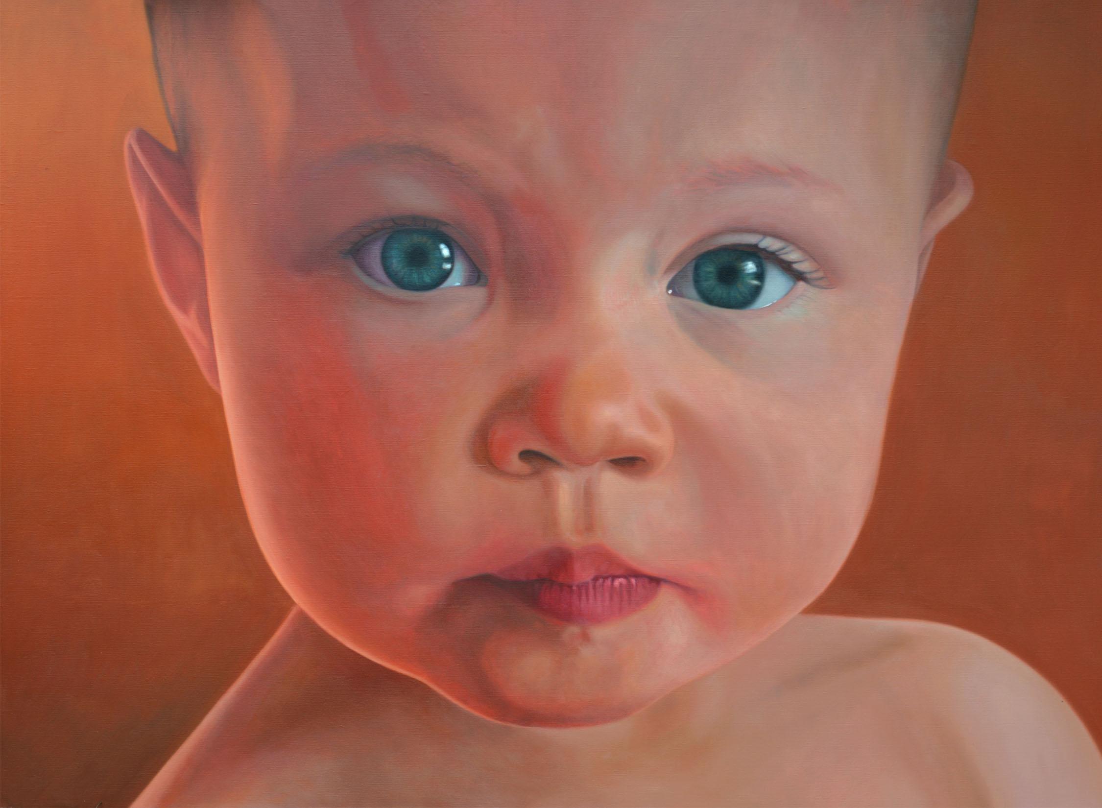 Leila portrait - 18 months