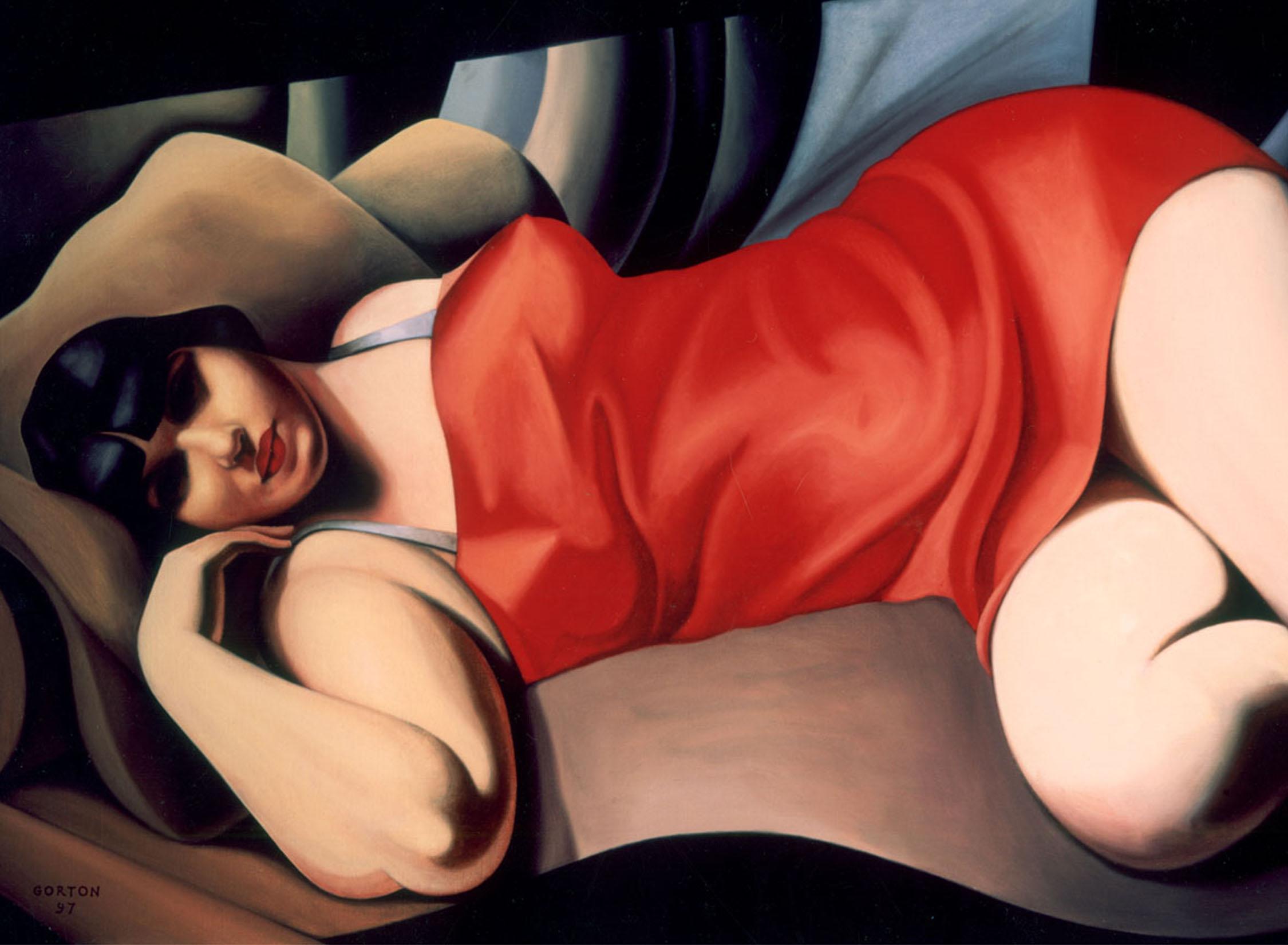 Tamara de Lempicka painting