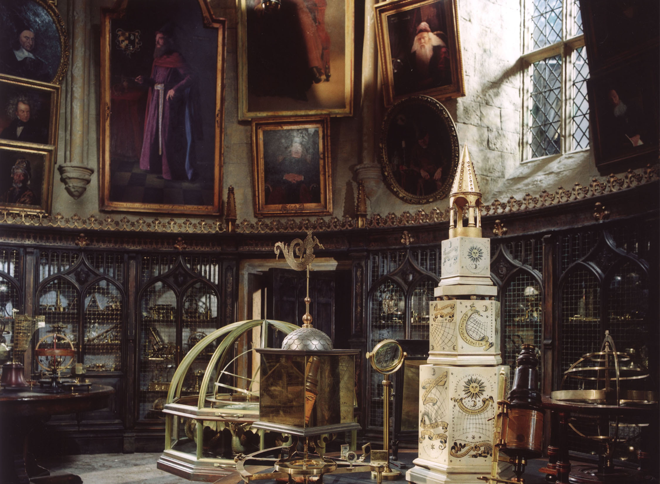 Dumbledore's chamber - in set